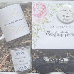 Box cadeau Grenat-demoiselledhonneur-temoinfemme-mariage-cadeau-france