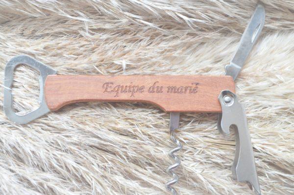 Couteau suisse spécial marié