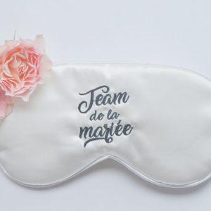 Masque de nuit mariage