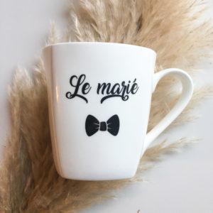 Tasse du marié